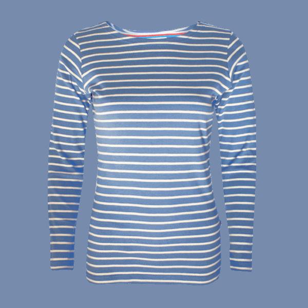 BretonStripe Luchrtblauw blauw