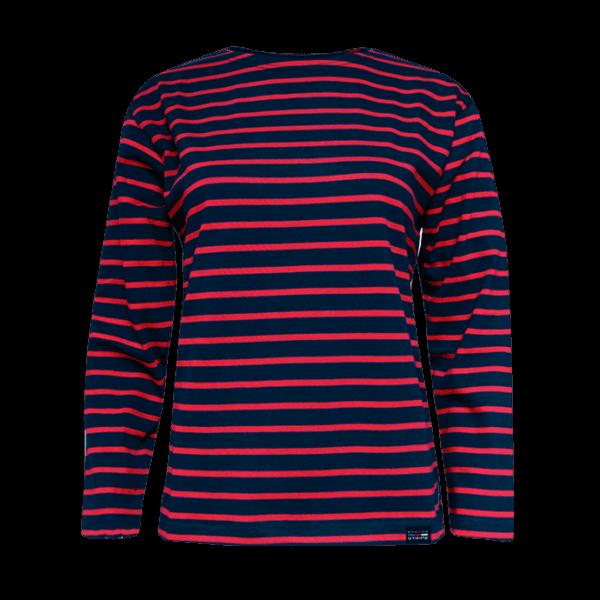 BretonStripe blauw rood