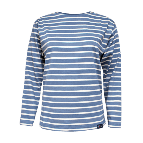 BretonStripe zeer lichtblauw