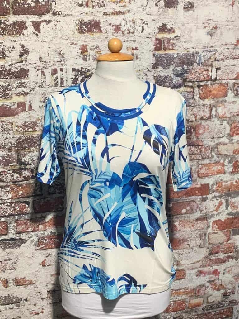 leona per donna shirt korte mouw 201.37.09 amparo